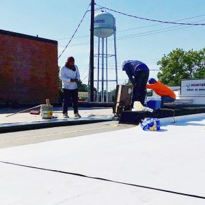 Duran's Roofing works on commercial roof repairs and replacements.