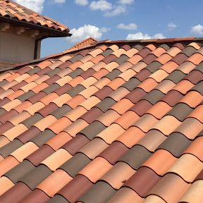 Clay or tile roofing can be a beautiful addition to your home or office.